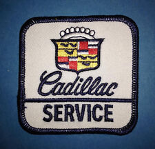 Rare Vintage 1980's Cadillac Service Iron On Car Club Jacket Hat Patch Crest