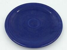 VINTAGE UNMARKED FIESTA BLUE USED NO CHIPS CRACKS ORIGINAL 6 SMALL PLATES