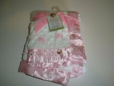 NWT Carters Just One You Thank Heaven For Little Girls Pink Hearts Baby Blanket