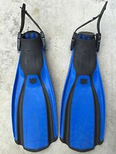 Blue Mares Plana Avanti Fins Flippers Size Regular Pre Owned