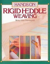 Hands on Rigid Heddle Weaving by Betty Linn Davenport (1987, Paperback)