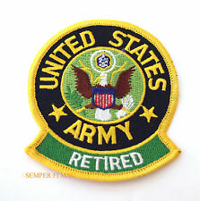 US ARMY RETIRED USA MILITARY HAT PATCH BADGE VETERAN PIN UP GIFT FORT L@@K