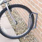 Floor & Wall Mounted Bike Stand Bicycles Cycle Steel Outdoor Safety Storage Rack