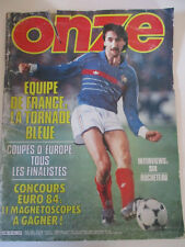 ONZE N°) 101 Mai 1984 L'équipe de France 1984