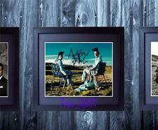 Breaking Bad Brian Cranston Aaron Paul SIGNED AUTOGRAPH FRAMED REPRO PHOTO PRINT
