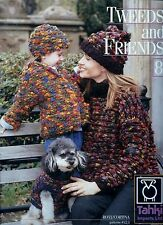 5 Tahki Magazines and 17 Knitting Leaflets  - Over 120 Patterns