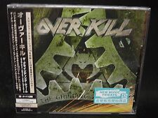OVERKILL The Grinding Wheel + 2 JAPAN CD + DVD The Bronx Casket Co. Lubricunts