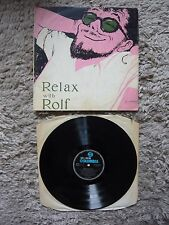 Rolf Harris Relax With Rolf Australian 1961 Columbia Import Vinyl Record Album