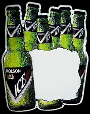 "Vintage 1990s Molson Ice Brand Beer Advertising 17""t Tin Daily Special Menu Sign"