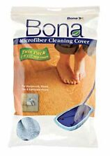 "BONA MICROFIBER CLEANING COVER - 8""X15"" MOP HEAD 2 PACK"