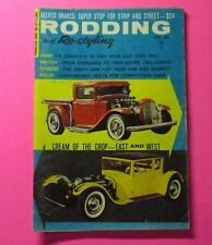 "RODDING & RE-STYLING MAGAZINE APRIL/1962.. ""SMALL VERSION""...CREAM OF THE CROP"