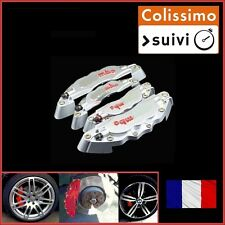 CACHE ETRIER DE FREIN TYPE BREMBO GRIS UNIVERSEL TUNING ALFA ROMEO GT, SPIDER
