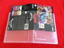 20 PK UNIVERSAL GAME CASES SUPER NINTENDO,NINTENDO 64,SEGA GENESIS - BEST PRICE