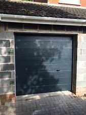 MODERN DESIGN SECTIONAL GARAGE DOOR FREE COLOUR CHOICE INSULATED NOT ROLLER