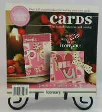 Cards Specialty Magazine Book February Papercrafting Card Making Idea Book