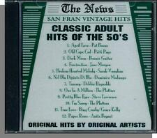 Classic Adult Hits of the 50's - New '94 CD! Pat Boone, Patti Page, Anita Bryant