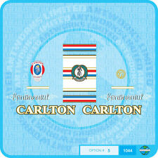Carlton Continental Bicycle Decals - Transfers - Set 5