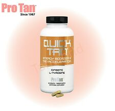 Pro Tan QUICK NATURAL BRONZING TANNING SUPPLEMENTS ACCELERATOR PILLS/TABLETS