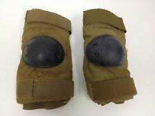 USMC Coyote Tan Elbow Pads - Size Medium - Paintball Airsoft Skateboard