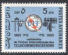 Afghanistan 1965 ITU-UIT/Radio/Telecomms 1v (n26230)