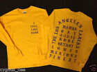I Feel like Kobe Mamba Day Pablo Kanye West MSG Long Sleeve T shirt GOLD