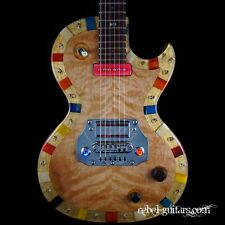 "Preowned Michael Spalt ResinTop Totem Guitar ser#G1103 ""Pirate"" boutique guitar"