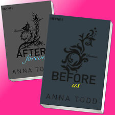 im SET: ANNA TODD | AFTER (Band 4+5) |  AFTER FOREVER + BEFORE US (Buch)
