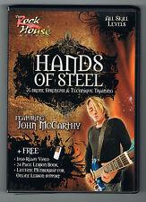 HANDS OF STEEL - X-TREME STRENGTH & TECHNIQUE TRAINING - DVD EN TRÈS BON ÉTAT