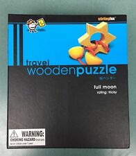 FULL MOON Wooden Puzzle , Travel size  STIRLINGFOX  Rated Tricky