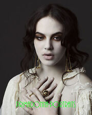 """JESSICA BROWN FINDLAY 8X10 Lab Photo """"DOWNTON ABBEY"""" Actress Haunting Portrait"""