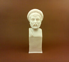 Pythagoras Alabaster statue bust Great Ancient Greek philosopher Mathematician