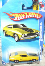 2010 Hot Wheels All Stars  #7-10 Yellow '73 Ford Falcon XB 5s ML MIP 1:64 Scale