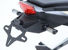 KTM 125 Duke all years R&G racing black tail tidy licence plate holder
