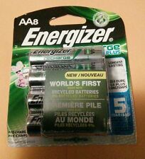8 PACK OF NEW ENERGIZER AA RECHARGEABLE BATTERIES!! 2300 MAH!! FREE SHIPPING!