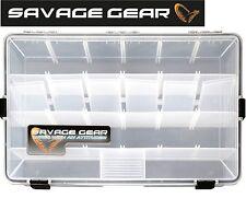 Savage Gear Lure Box 35,5 x23x9,2cm  Angelbox wasserdicht, Tacklebox für Köder