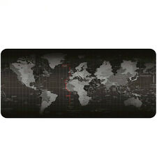 High Quality Large Size 900*400MM World Map Mouse Pad Mat Laptop Gaming Mousepad