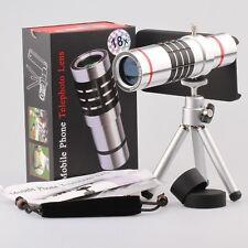 18x Optical Aluminum Phone Telescope camera lens With Case For iphone 7 plus
