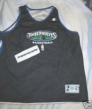 Authentic Minnesota Timberwolves Jersey XXL 2XL Starter NBA Reversible Practice