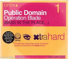 PUBLIC DOMAIN - OPERATION BLADE (3 track CD single)
