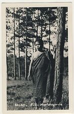 Vietnam GIRL FROM THE MOUNTAINS Dalat JUNGE FRAU * Vintage 50s Ethnic Nude RPPC