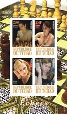 ** Famous Chess players  s/s  Tchad 2010 mint MNH IMPERF #C257