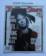 ROLLING STONE MAGAZINE - Issue 648 January 21st 1993 - Neil Young  / David Bowie