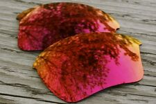 Purple Red Mirrored Replacement Sunglass Lenses for Oakley Half Jacket 2.0 XL