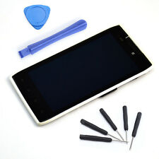 White LCD Touch Screen Digitizer + Frame For Motorola Droid Razr XT910 XT912