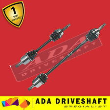 2 TOP QUALITY HONDA PRELUDE 91-96 AUTO NEW CV JOINT DRIVE SHAFT (PAIR)