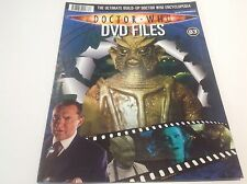 DOCTOR WHO DVD FILES MAGAZINE - PART 83 - ENCYCLOPEDIA - WARRIORS OF THE DEEP