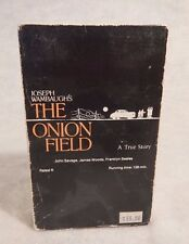 Betamax Beta  THE ONION FIELD  1979  John Savage  James Woods  Franklyn Seales
