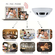 Wireless Smoke Detector Hidden Camera Motion DVR Digital Video Record Nanny Cam