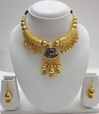 Gold pl Indian Classical Belly dance Cabaret Burlesque JEWELRY Gold pl f1416