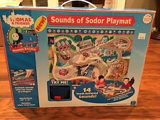 2005 Sounds Of Sodor Playmat Press To Hear LC99765 Thomas Wooden Train Brio